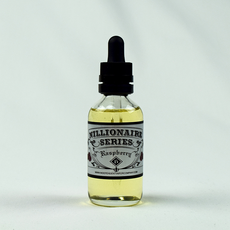 Raspberry flavored Eliquid by Nillionaire