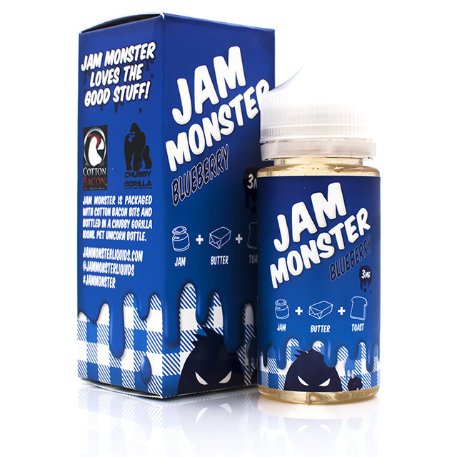 Jam Monster E-Liquid Blueberry Flavor