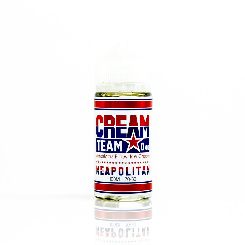 Neopolitan Eliquid by Cream Team