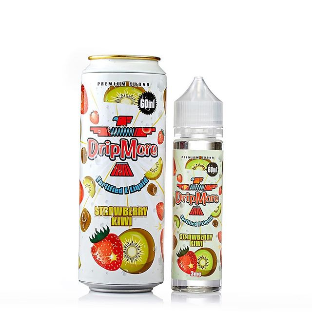 Strawberry Kiwi Eliquid by DripMore