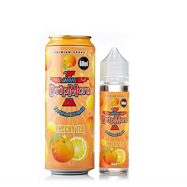 Peachy Tea Eliquid by DripMore
