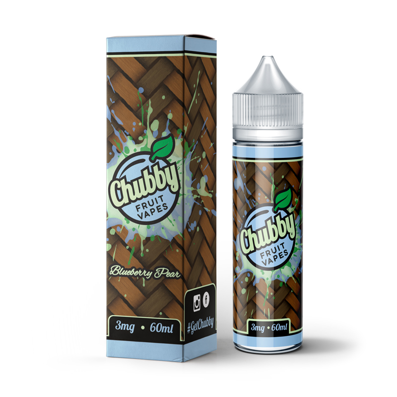 Blueberry Pear Eliquid by Chubby Fruit Vapes