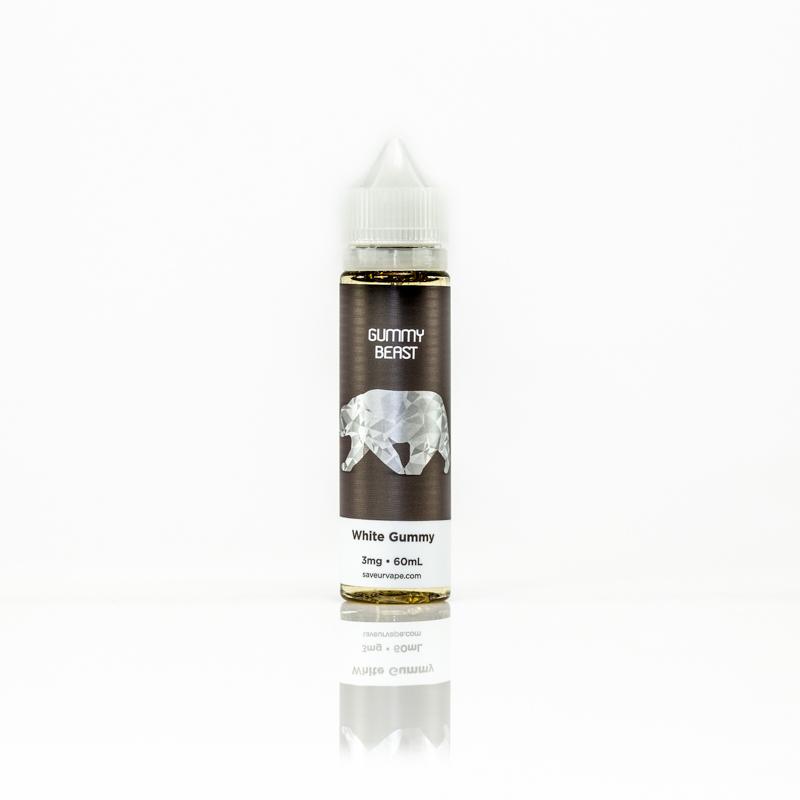 White Gummy Eliquid by Gummy Beast